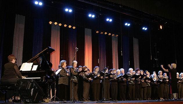 Гала-концерт к дню пожилых с молодым задором