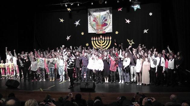 Победа на фестивале «Ханукальные звёздочки в Хайфе»