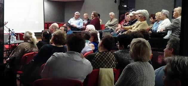 Эдуард Тополь в гостях у сестры и читателей