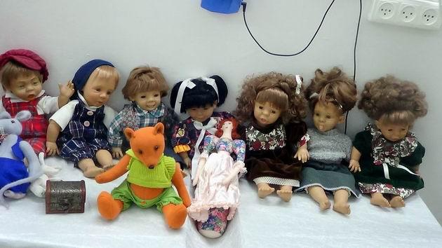 Такие разные куклы…