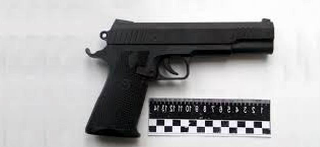 Пистолет игрушечный, грабители – настоящие…