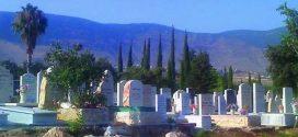 А на кладбище не спокойненько
