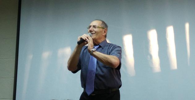 Валерий Блехер пел на своём юбилее