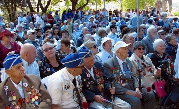 Традиционный митинг дня Победы