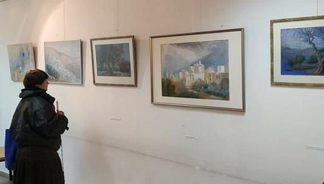 Вернисаж в Иерусалиме художницы из Кармиэля