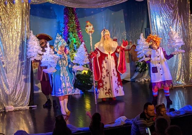 Новогоднее чудо от ТЮЗА Тиктинера